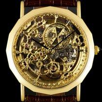 Vacheron Constantin Patrimony Жёлтое золото 33mm Прозрачный