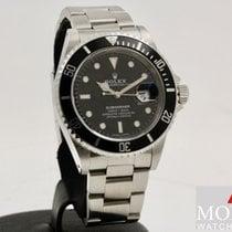 Rolex Submariner Date Stahl 40mm Blau Keine Ziffern