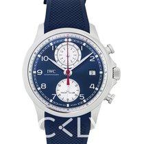 IWC Portuguese Yacht Club Chronograph iw390507 new