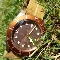 Tudor Black Bay Bronze Brąz 43mm Brązowy Arabskie