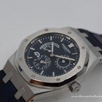 Audemars Piguet Royal Oak Dual Time Staal 39mm Blauw