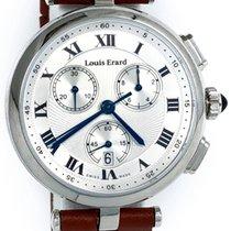 Louis Erard new Quartz Small Seconds Guilloche Dial 36mm Steel Sapphire Glass