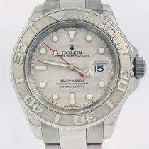 Rolex Acero Automático Plata Sin cifras 40mm usados Yacht-Master 40