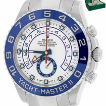 Rolex Yacht-Master II pre-owned 44mm White Steel