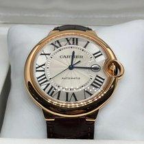 Cartier Ballon Bleu 42mm W6900651 Mycket bra Roséguld 42mm Automatisk