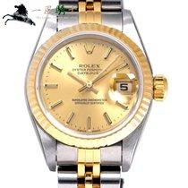 Rolex Lady-Datejust Arany/Acél 26mm Pezsgőszínű
