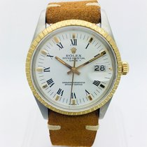 Rolex 15053 Gold/Steel 1980 Oyster Perpetual Date 34mm pre-owned United States of America, Florida, Miami