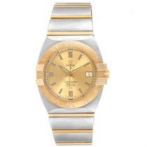 Omega Constellation Gold/Steel 35mm Champagne