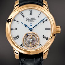 Glashütte Original Senator Meissen Tourbillon Yellow gold 40mm