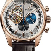 Zenith El Primero Chronomaster Rose gold Silver United States of America, New York, Brooklyn