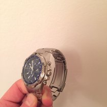 Breil Chronograph 13mm Quarz 2007 neu Blau