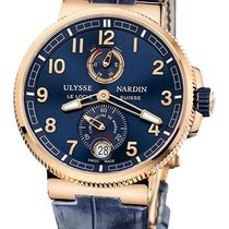 Ulysse Nardin Marine Chronometer Manufacture Rose Gold