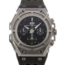 Linde Werdelin SpidoSpeed 44 Chronograph Black Dial L.E.