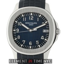 Patek Philippe Aquanaut 18k White Gold 42mm Blue Dial