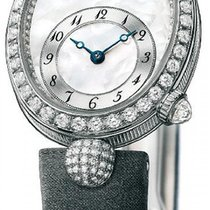 Breguet Reine de Naples White gold 24.95mm Mother of pearl