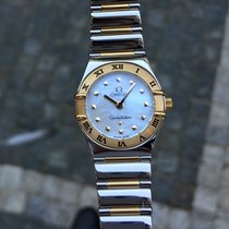 Omega Constellation My Choice Steel & Gold MOP Dial