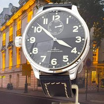 Zeno-Watch Basel Stål Manuelt brugt