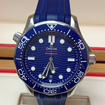 Omega 210.32.42.20.03.001 Staal 2019 Seamaster Diver 300 M 42mm nieuw
