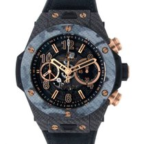 Hublot Big Bang Unico gebraucht 45mm Transparent Chronograph Kautschuk