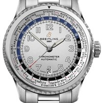 Breitling Navitimer 8 Steel 43mm Silver Arabic numerals United States of America, California, Moorpark