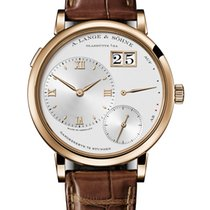 A. Lange & Söhne Grand Lange 1 Rose gold 40.9mm Silver Roman numerals United States of America, New York, New York