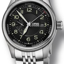 Oris Big Crown Small Second Pointer Day Steel United States of America, New York, New York