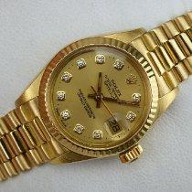 Rolex Lady-Datejust Gelbgold 26mm Gold Keine Ziffern Deutschland, Pirmasens