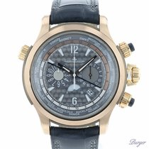 Jaeger-LeCoultre Master Compressor Extreme World Chronograph Ouro rosa 46.3mm Cinzento Árabes