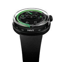 HYT Steel Manual winding HYT H0 Black 048-DL-90-GF-RU pre-owned