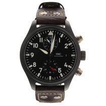 IWC Pilot Chronograph Top Gun Ceramic 44mm Black Arabic numerals United States of America, Florida, Miami