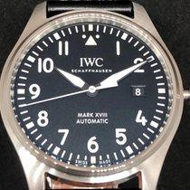 IWC Pilot Mark Acciaio 40mm Nero Arabo Italia, San Giovanni Valdarno