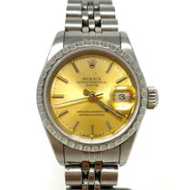 Rolex Oyster Perpetual Lady Date Acier 26mm Blanc France, Biarritz
