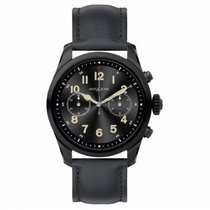 Montblanc Summit Steel 42mm Black Arabic numerals