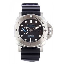 Panerai Steel Automatic Black 47mm new Luminor Submersible 1950 3 Days Automatic