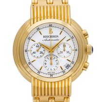 Boucheron Reflet Yellow gold 39mm White