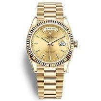 Rolex (ロレックス) デイデイト 36 新品 自動巻き 正規のボックスと正規の書類付属の時計 128238
