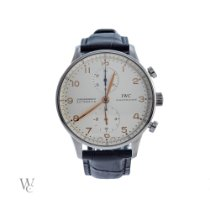 IWC pre-owned Automatic Silver Sapphire Glass 3 ATM