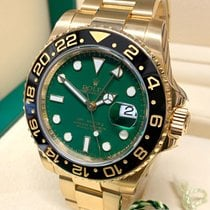 Rolex GMT-Master II Yellow gold 40mm Green No numerals United Kingdom, Wilmslow