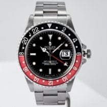 Rolex GMT-Master II Steel 40mm Black No numerals United States of America, Massachusetts, Boston