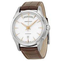 Hamilton Men's Jazzmaster Silver Dial Stainless Steel Watch
