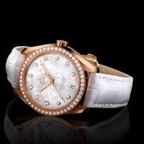 Omega Seamaster Aqua Terra Rose gold 38.5mm Mother of pearl