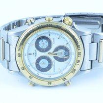 Lorenz Herren Uhr Chronograph Chrono Stahl/gold 39mm Quartz