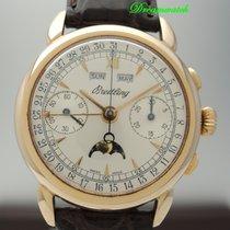 Breitling Montbrillant Chronograph 1939 Vintage Vollkalender /...