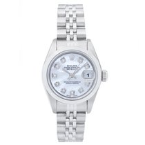 Rolex Ladies Datejust 69160 Stainless Steel Watch