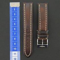 브라이틀링 (Breitling) Calf Leather strap 20-18 Brown + Breitling...