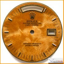 Rolex Dial Day Date Exotic Wood Dial Ref 18038 Rare  Stock...