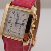 Cartier Tank Francaise Chronoflex Date