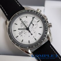 "Omega ""N.O.S"" Speedmaster Pro Silver Snoopy Award Limited"