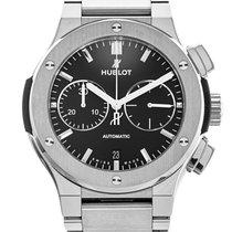 Hublot Classic Fusion Chronograph pre-owned 45mm Titanium