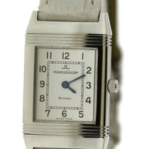 Jaeger-LeCoultre Reverso Lady pre-owned 20mm Silver Leather